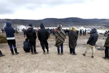 'Please help us': Migrants, exposed to freezing Bosnia winter, await chance to reach EU
