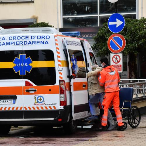 Italy – 2,615 in intensive care for Covid-19