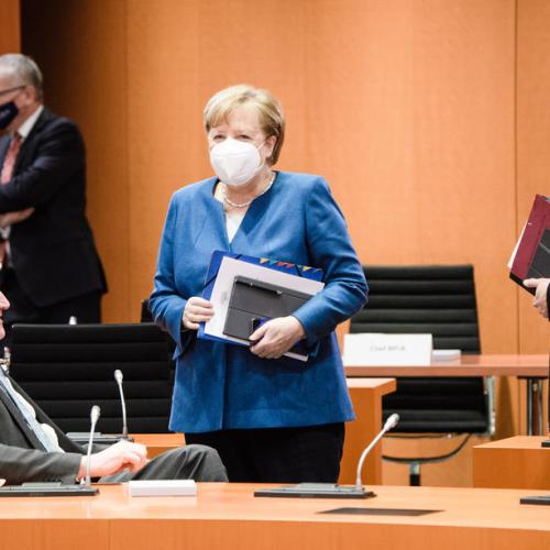 German cabinet agrees quota for women on company boards