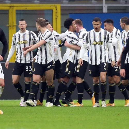 Juventus ends Milan's unbeaten streak