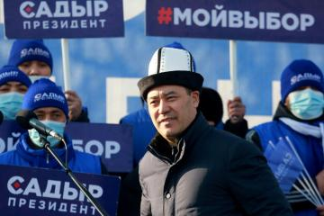 Nationalist politician likely to win Kyrgyz presidential vote