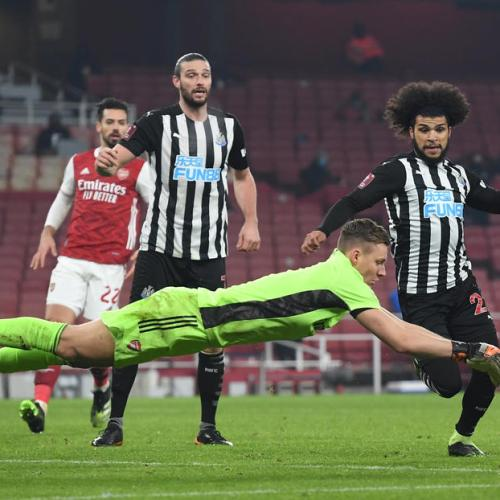 FA Cup holders Arsenal, Man United through; West Brom lose shoot-out