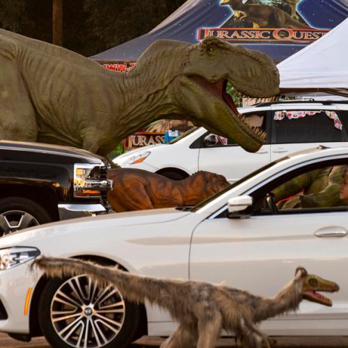 Photo Story: Dinosaur invasion in Pasadena, California