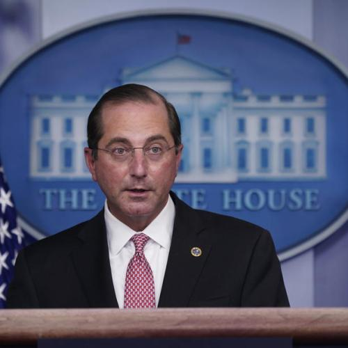 U.S. health secretary Azar resigns, cites Capitol attack