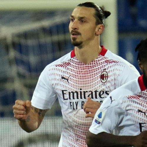 AC Milan regain sole leadership as Ibra double sinks Cagliari