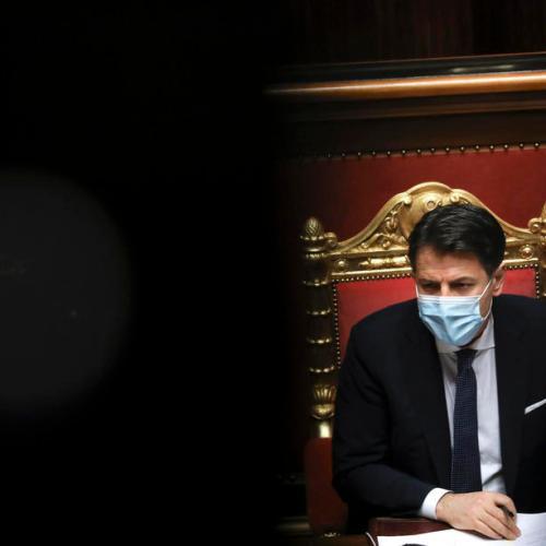 Italy's Conte survives close Senate vote