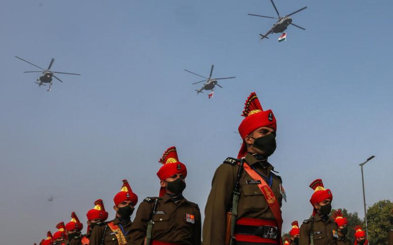 Photo Story: Republic Day parade rehearsals in New Delhi