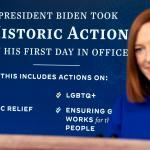 Biden White House pledges data, transparency, respect for free press