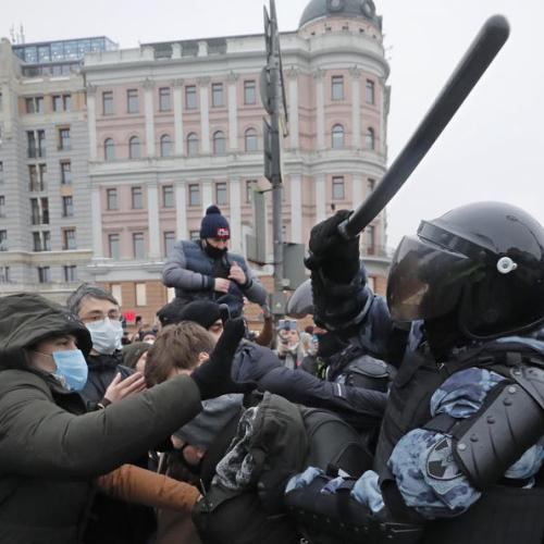 More than 2,600 detained as pro-Navalny protests sweep Russia