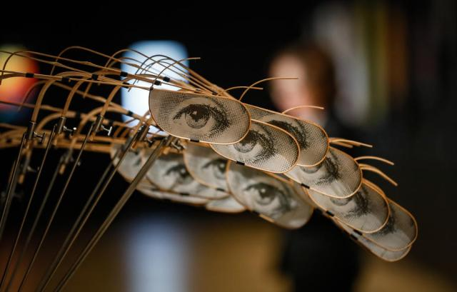 Photo Story: The exhibition Laboratory of the Future Kinetic Art in Russia in Moscow