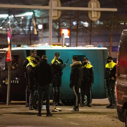 Calm returns to Dutch cities after riots, with police out in force