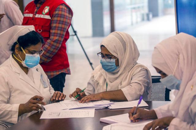 Photo Story: Bangladesh begins Covid-19 vaccinations