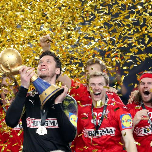 Denmark edge Sweden to retain world handball crown