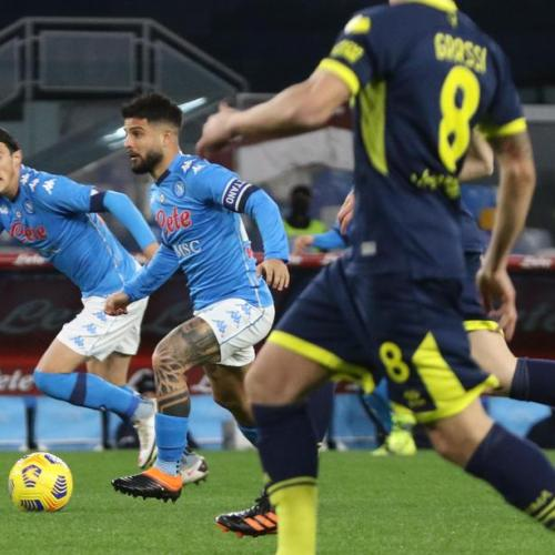 Napoli beat Parma to ease pressure on coach Gattuso
