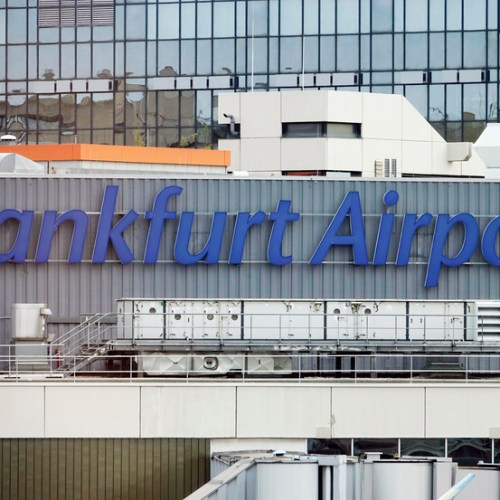 Frankfurt Airport January Passenger Volume Down 81%