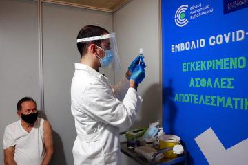 Greece orders COVID-19 vaccinations as infections rise