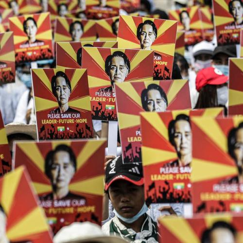 Photo Story: Myanmar protesters gather, undeterred by worst day of violence