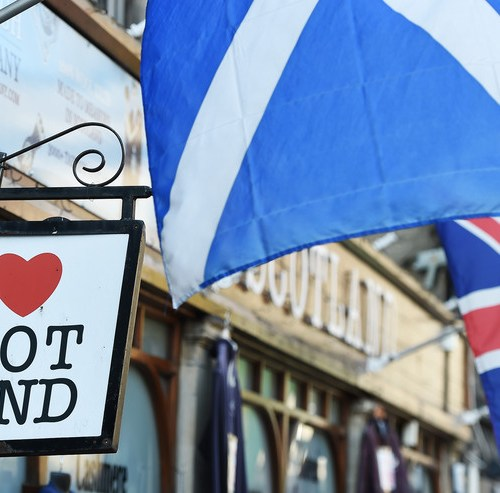 Support for Scottish independence drops
