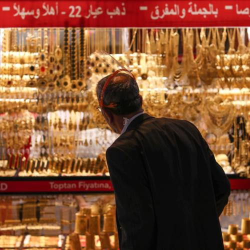 Gold drops to near 2-week low