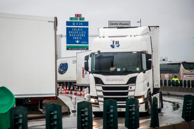 Road freight prices from France to Britain jump 50% in January