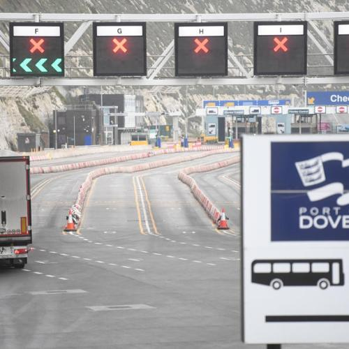 Dover warns of Brexit trade disruption as tourists hit Europe