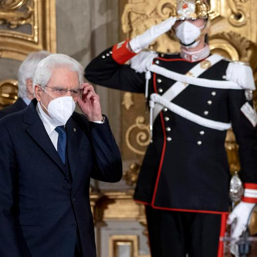Italy's president calls on Draghi to save country from crisis