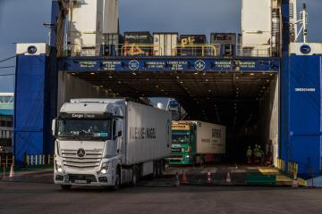 Ireland's goods imports from Britain drop 32% in first half of 2021