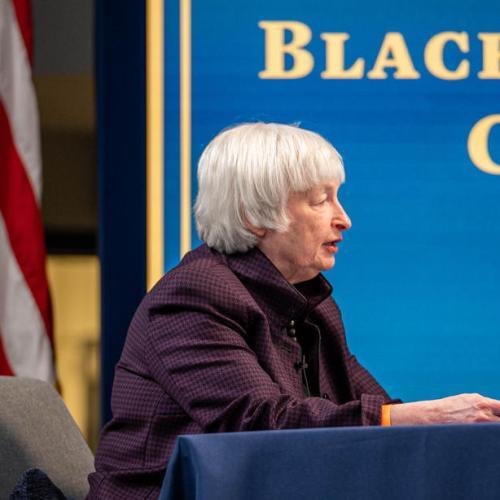 U.S. Treasury Secretary Yellen: Too soon to say if changes needed to address market volatility