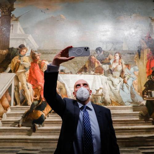 Photo Story: Exhibition opens at Pushkin Museum on Giambattista Tiepolo and his son Giandomenico