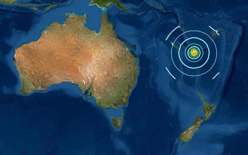 Tsunami not expected after 6.2 magnitude earthquake strikes Vanuatu – PTWC