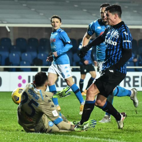 Atalanta beat Napoli to set up Italian Cup final with Juventus