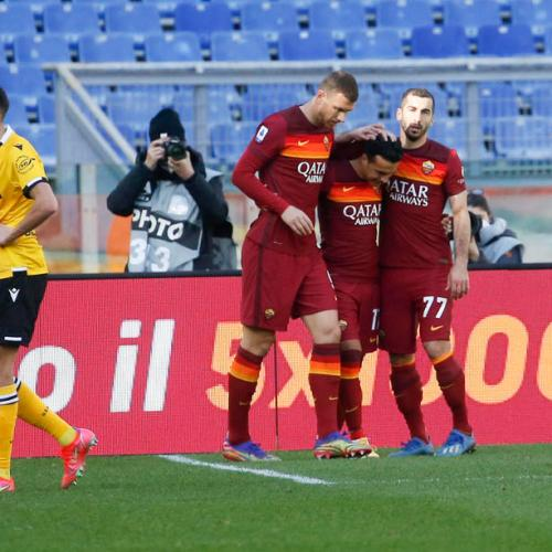 Roma leapfrogs Juve and goes third in Italian Serie A