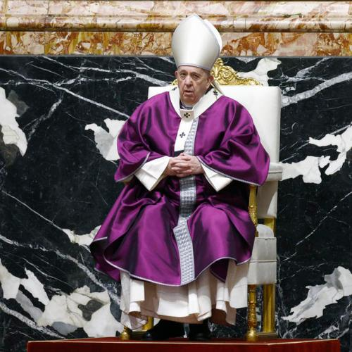 Photo Story: Pope Francis leads Catholics into Lent