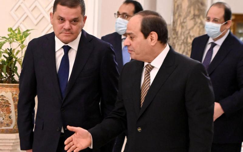 Egypt signs flurry of deals with Libya's unity government