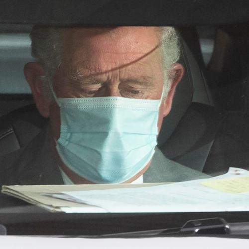 UK's Prince Charles visits father Philip in hospital