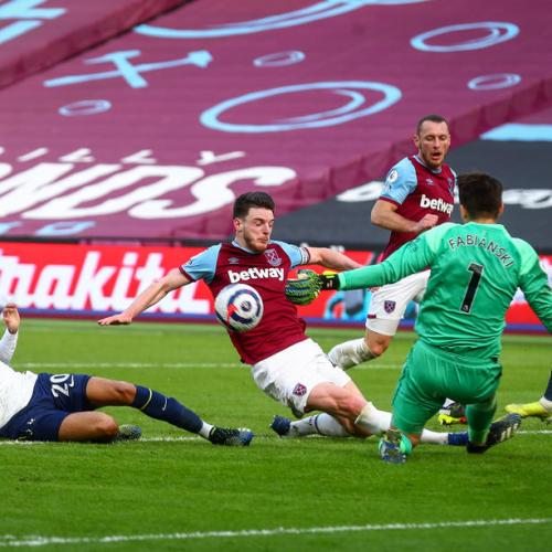 West Ham go fourth with win over Tottenham
