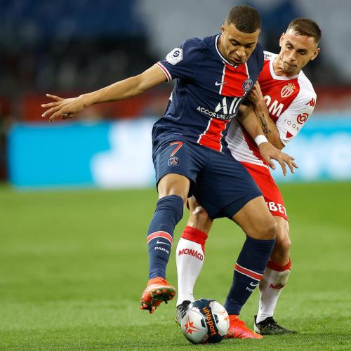 Mbappe nets double as PSG thrash Dijon to put pressure on Lille