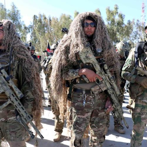 Photo Story: Afghan army soldiers Celebrate Soldiers Day