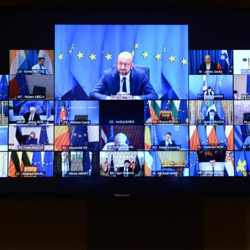 EU leaders to meet today in video-summit