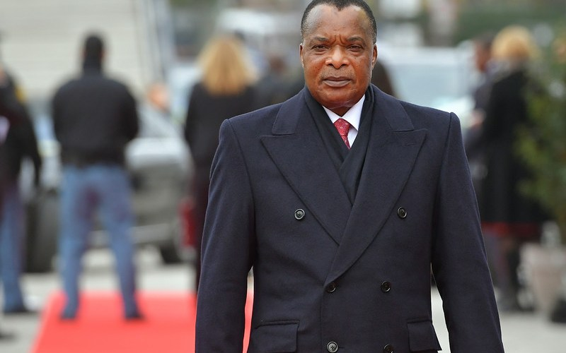Congo Republic's Sassou re-elected with 88% of the vote
