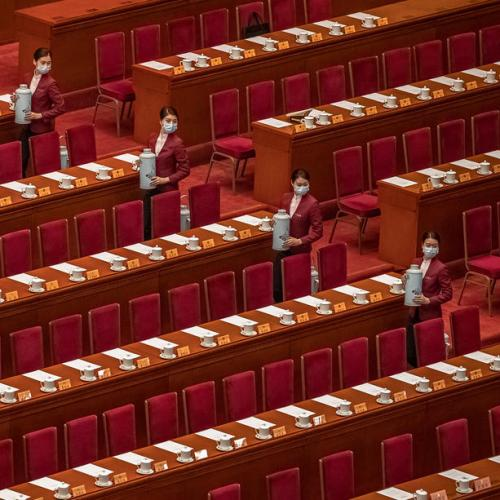 China parliament overwhelmingly approves change to Hong Kong electoral system