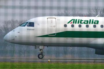 EU approves 12.8 million euros in new state aid for Italian carrier Alitalia