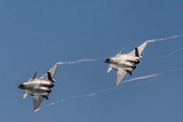 At 39 aircraft, China sets new high for Taiwan defence zone incursion