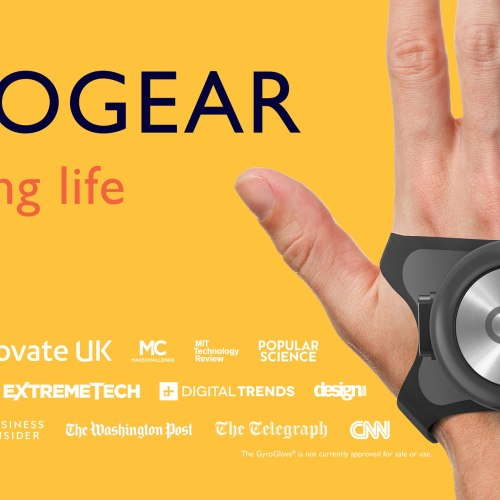 UK startup develops gyroscope glove to ease tremors for those with Parkinson's