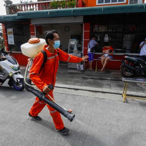 Philippines sees new daily record coronavirus cases