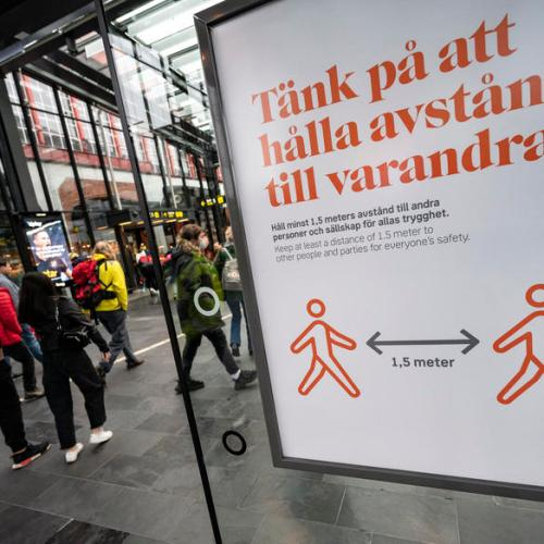 Sweden saw lower 2020 death spike than much of Europe