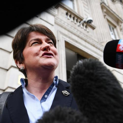 N.Ireland leader stands down, starts countdown for new government