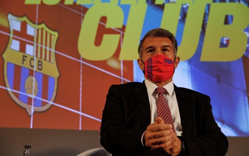 Laporta plans to announce changes at Barcelona