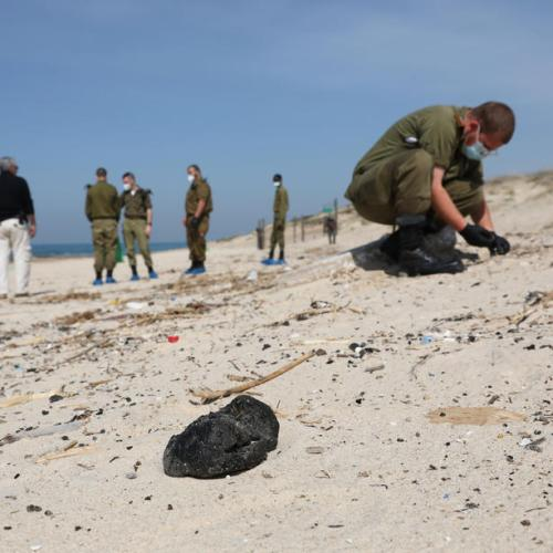 Israel accuses Iran of link to oil spill off its shores