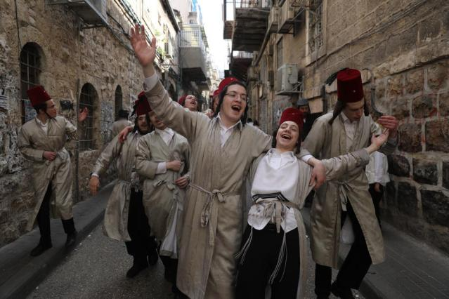 Photo Story: Celebration of Purim amid coronavirus pandemic